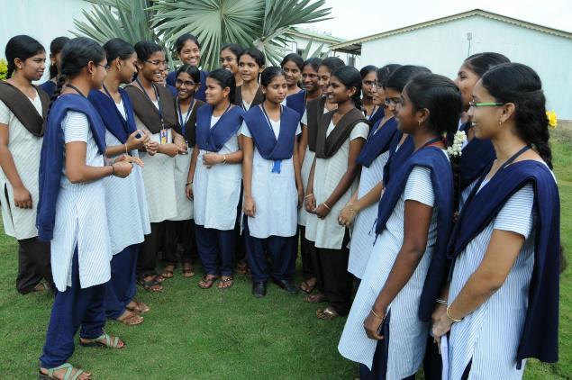 Students of Nuzvid IIT who were selected for NASA International Space Development Conference (ISDC), to be held at USA, from May 23. / Photo. Ch. Vijaya Bhaskar / The Hindu