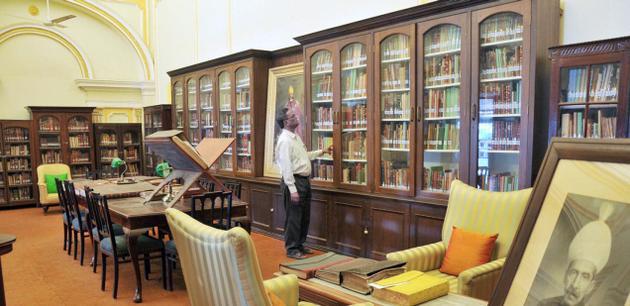 Kingdom of words: Chowmahalla Palace Library, Hyderabad. - Nagara Gopal