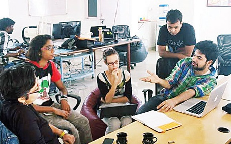 At Devthon, people with ideas can interact with others who can provide feedback and tech support that can turn it into a reality.