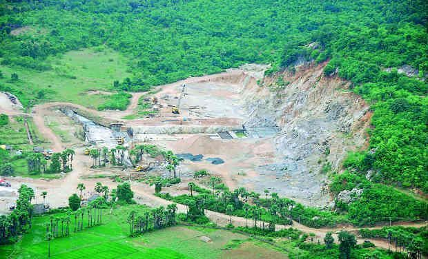 File photo of Polavaram Dam. (Photo: DC)