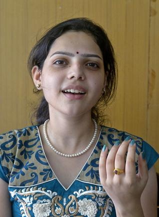 Amala Chebolu. - Photo: K.R. Deepak / The Hindu