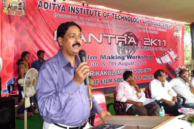 Ankuram director C.Umameshara Rao / Photo: By Arrangement / The Hindu