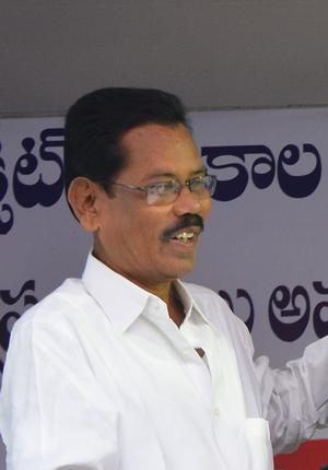 The Communist Party of India leader and former two-time Chintapalli MLA Goddeti Demudu. - File Photo: C.V. Subrahmanyam / The Hindu