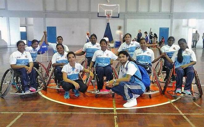Mind over matter Wheelchair basketball players at the '2017 Women's Development' camp in Thailand.