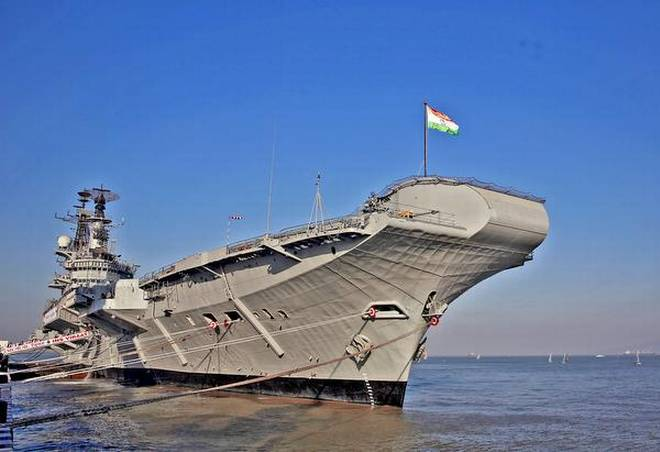 Tourist attraction: Detailed Project Report for the INS Viraat project will be ready in a fortnight. | Photo Credit: Rafiq Maqbool